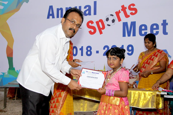 The Indian Model School-Sports Meet