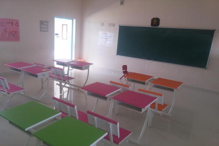 The Indian Model School-Classrooms