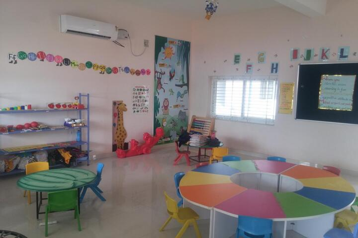 The Indian Model School-Primary Classrooms