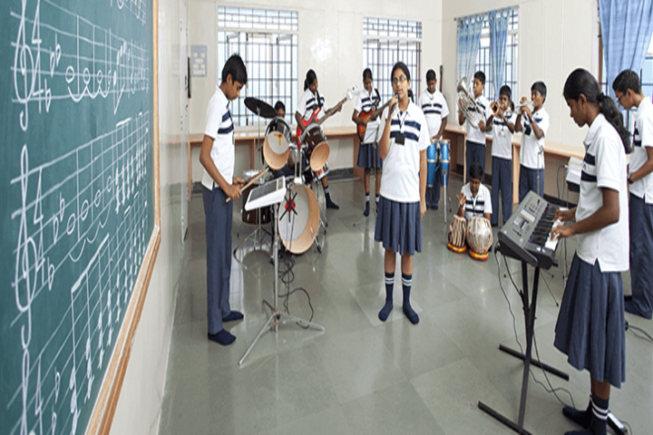 The Indian Public School-Music Room