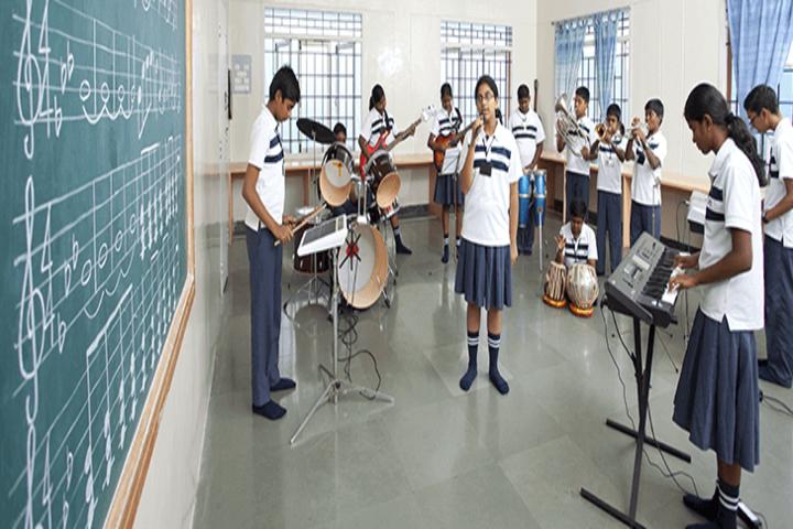 The Indian Public School-Music Room