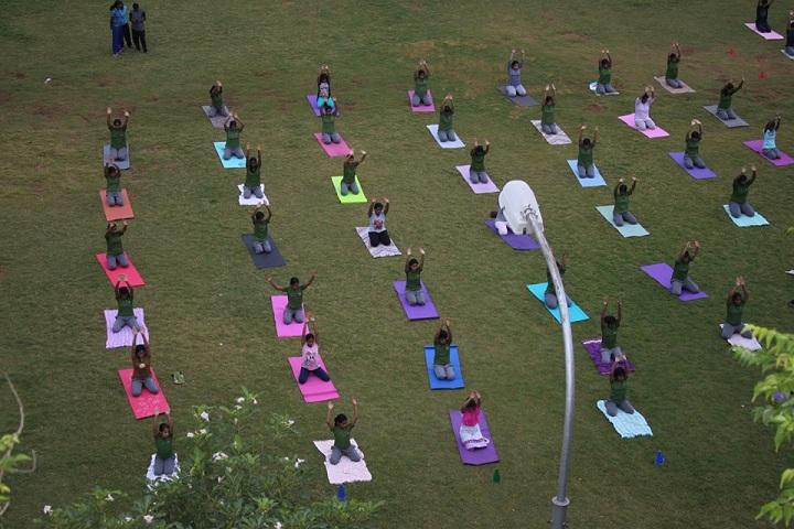 The Indian Public School-Yoga
