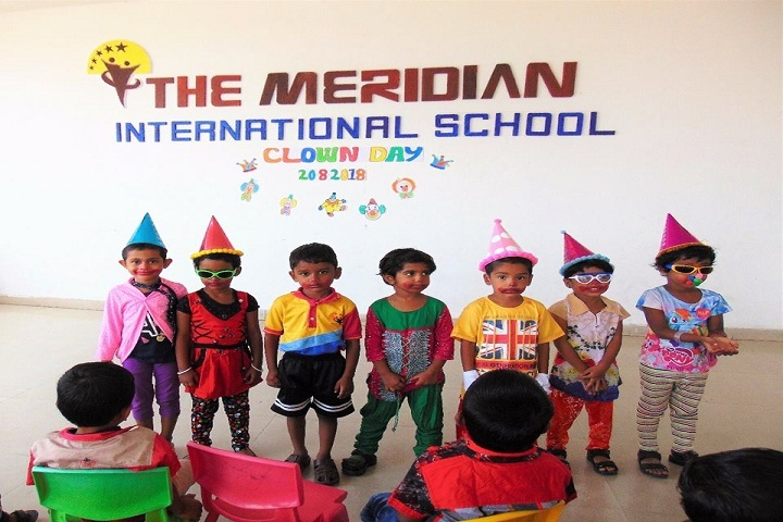 The Meridian International School- Clown Day