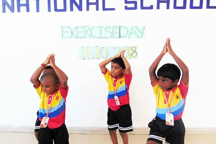 The Meridian International School- Exercise Day