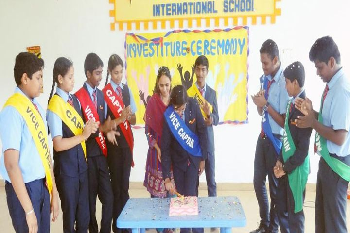 The Meridian International School- Investiture Ceremony