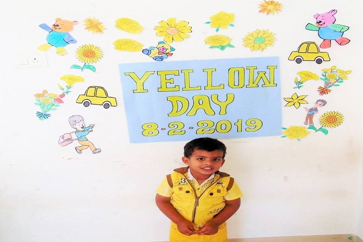 The Meridian International School- Yellow Day