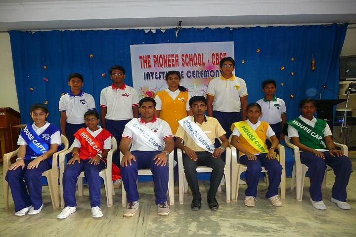 The Pioneer School-Investiture Ceremony