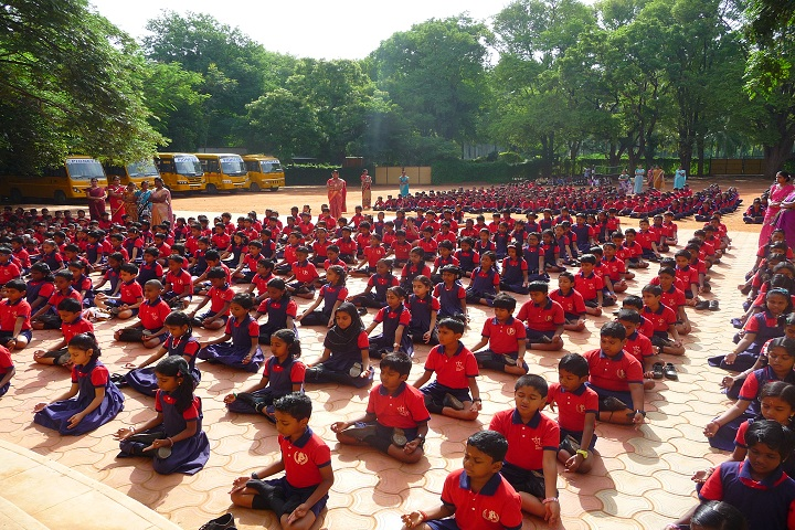 The Pioneer School-Yoga Day Celebration