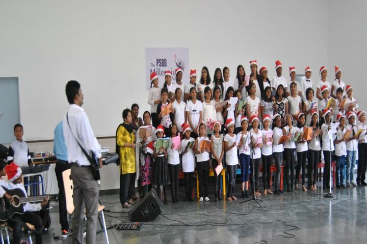 The PSBB Millennium School-Christmas Celebration