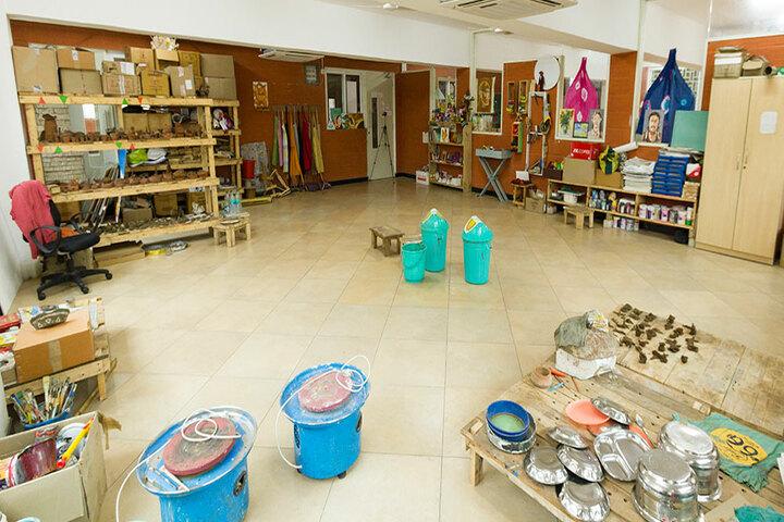 The Pupil - Saveetha Eco School-Art and Craft Room