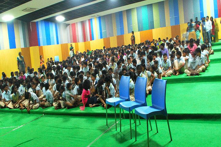 The Pupil - Saveetha Eco School-Auditorium