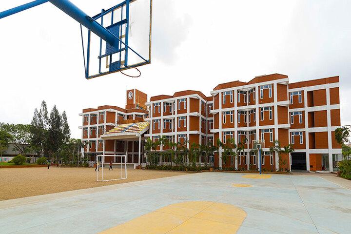 The Pupil - Saveetha Eco School-Basket Ball Ground