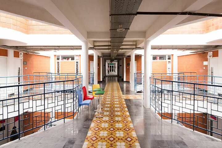 The Pupil - Saveetha Eco School-Courtyard
