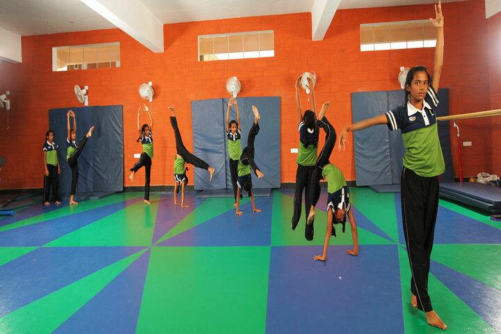 The Pupil - Saveetha Eco School-Gymnasium