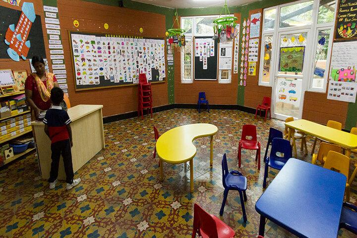 The Pupil - Saveetha Eco School-KG Classroom