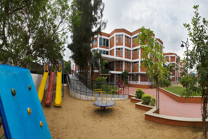 The Pupil - Saveetha Eco School-KG Outdoor Play Area