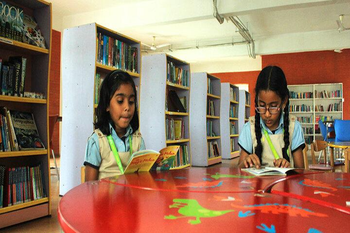 The Pupil - Saveetha Eco School-Library