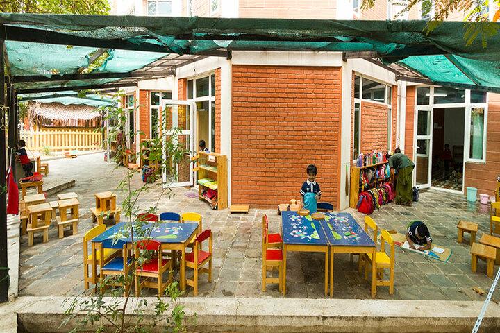 The Pupil - Saveetha Eco School-Outdoor Classroom