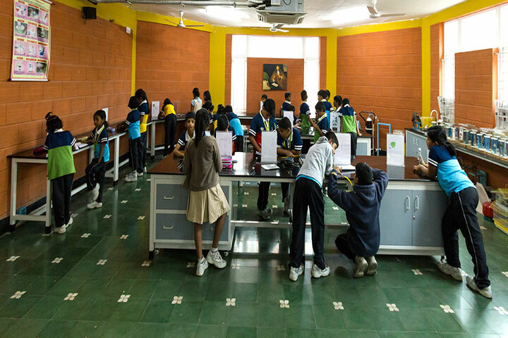 The Pupil - Saveetha Eco School-Science Lab