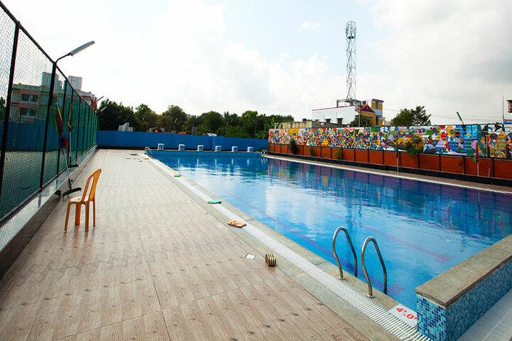 The Pupil - Saveetha Eco School-Swimming Pool