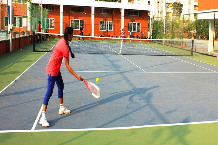 The Pupil - Saveetha Eco School-Tennis Court