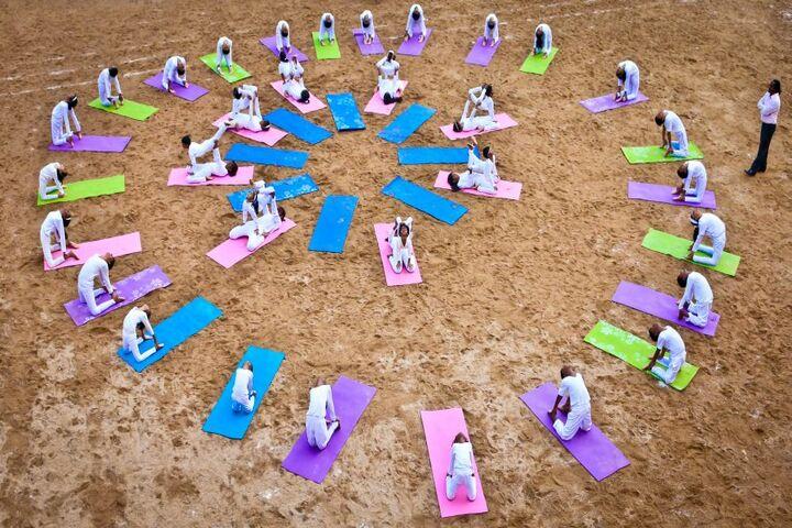 The Pupil - Saveetha Eco School-Yoga