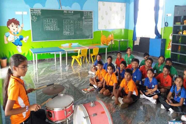 The Richmond Public School-Music Class