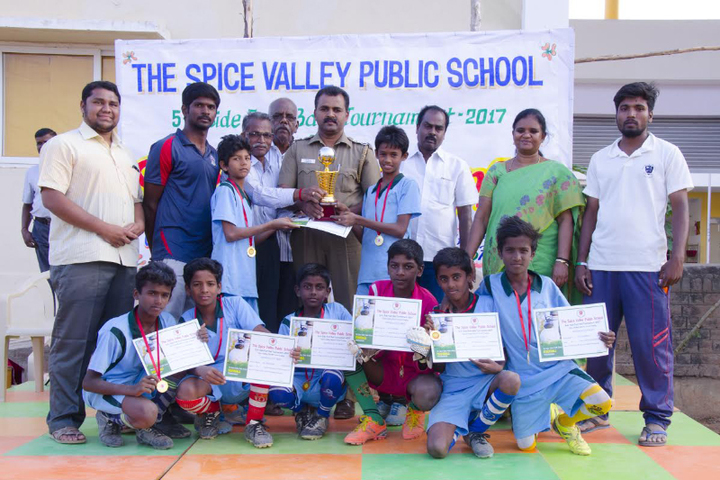 The Spice Valley Public School-Acheivements