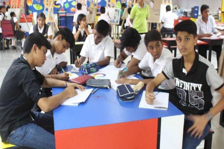 The Velammal International School-Activity Room