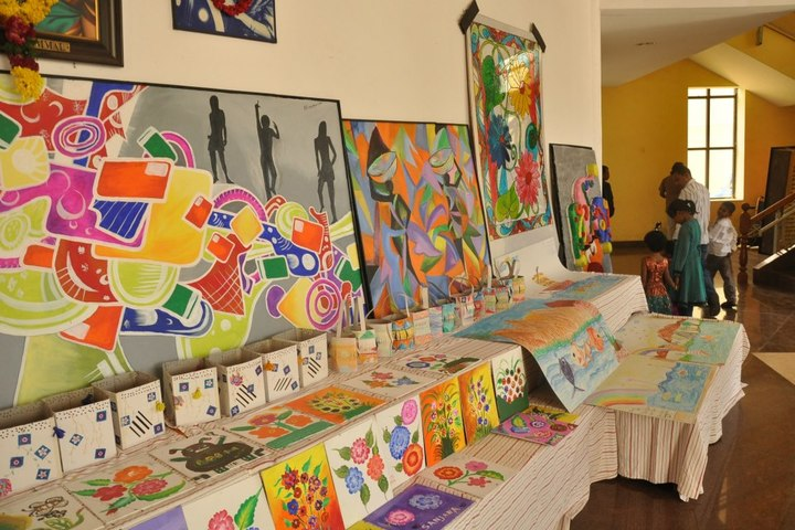 The Velammal International School-Art Exhibition