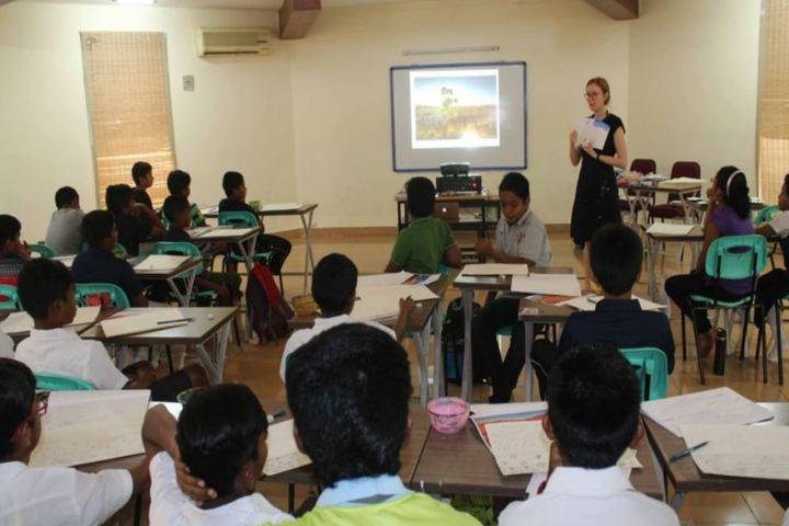 The Velammal International School-Audio Visual Room