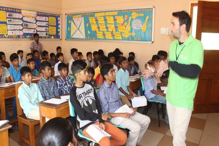 The Velammal International School-Classroom