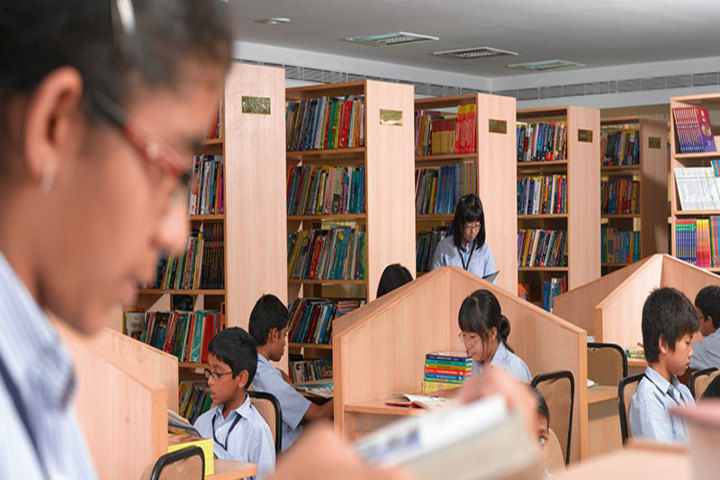 The Velammal International School-Library