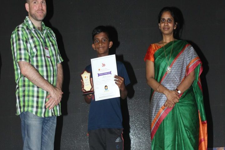 The Velammal International School-Prize Distribution