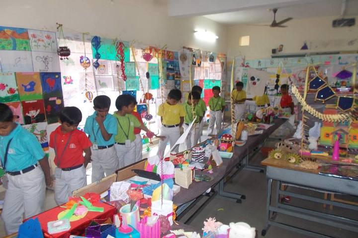 The Vijay Millennium School-Art Exhibition