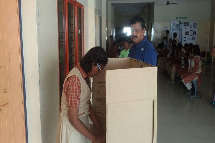 The Vijay Millennium School-Election