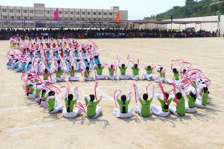 The Vijay Millennium School-Sports Day