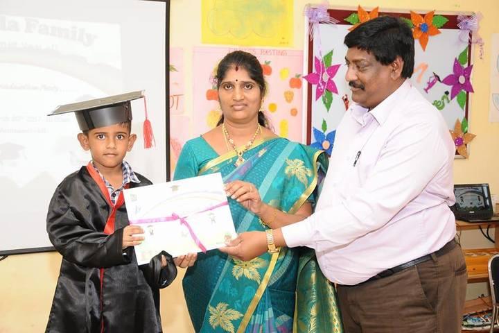 The Chola International School-Graduation Day