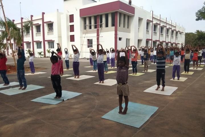 The Chola International School-Yoga