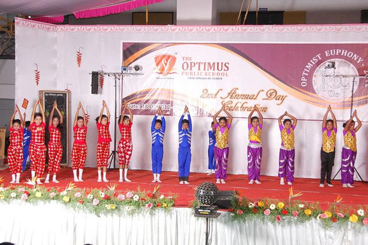 The Optimus Public School-Annual Day Celebration