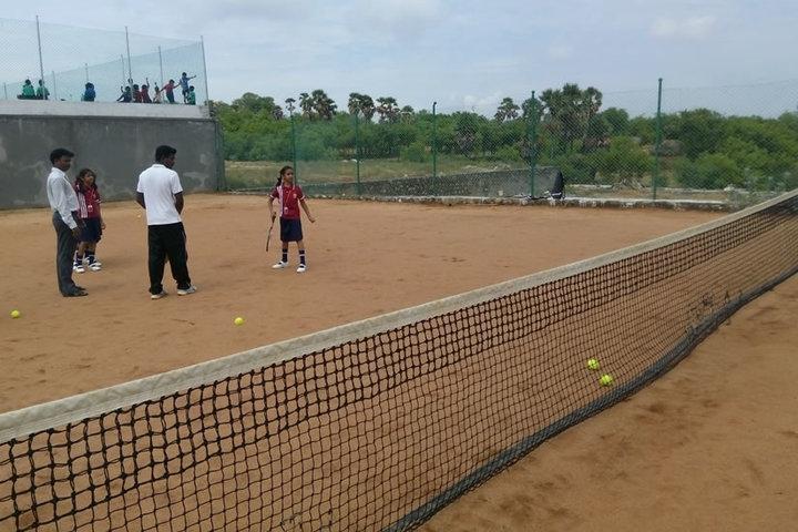 The Optimus Public School-Badminton Court