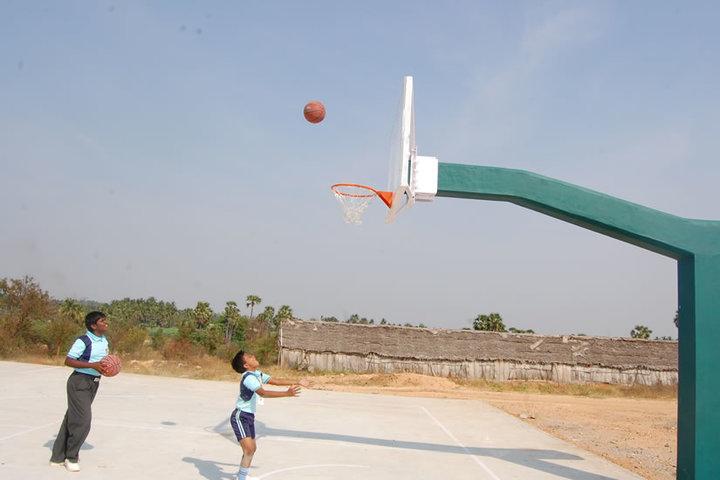 The Optimus Public School-Basket Ball Court
