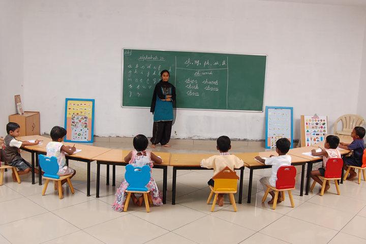 The Optimus Public School-KG Classroom