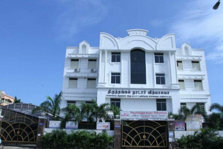 Thiruthangal Nadar Vidhyalaya-School Building