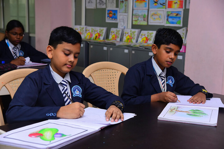 Trinity Central School-Drawing Competition