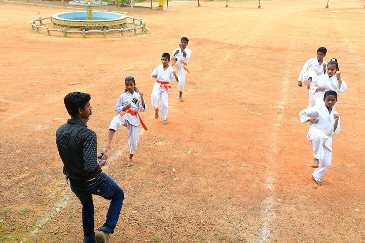 Trinity Central School-Karate