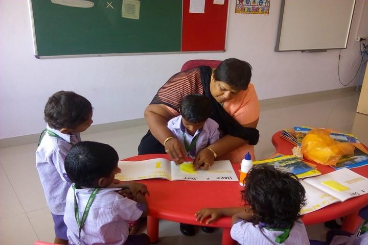 TRS Global Public School-KG Class Activity