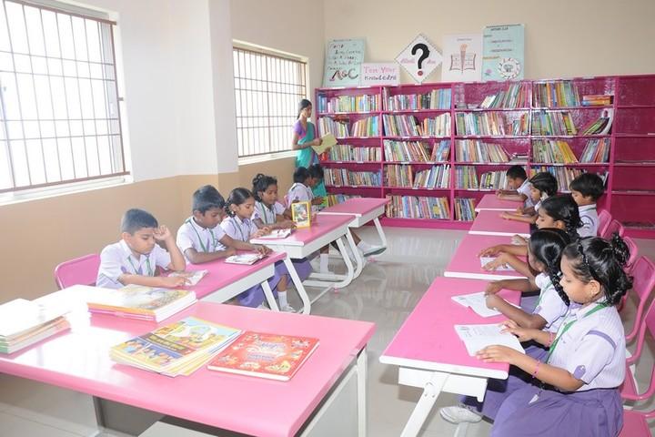 TRS Global Public School-Library