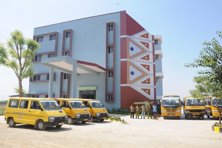 TRS Global Public School-School Building