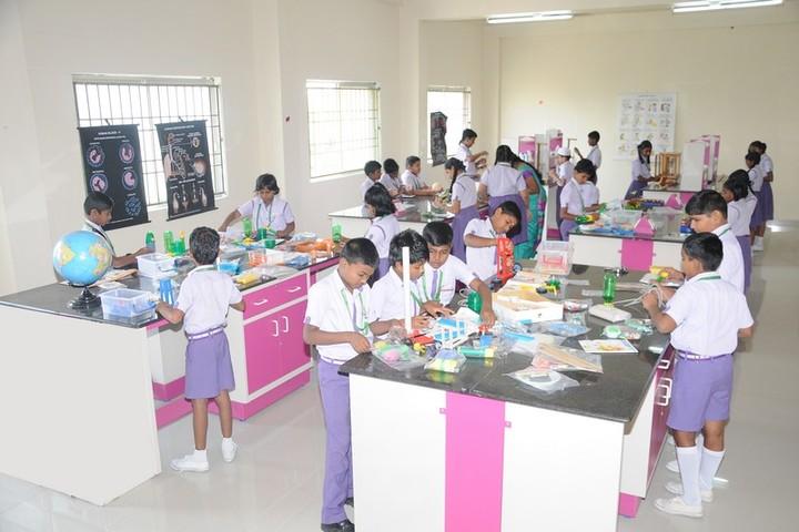 TRS Global Public School-Science Lab
